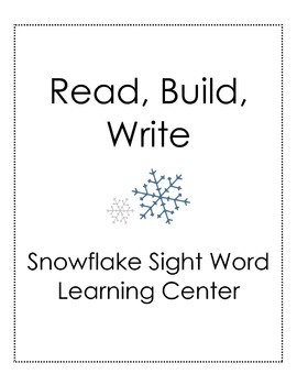 Snowball Read, Build, Write