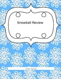 Snowball Review Activity