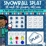Winter 2D and 3D Shapes Game