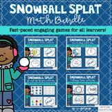 Winter Math Games Snowball SPLAT! The Bundle