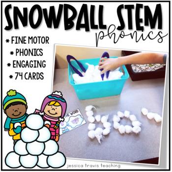 Snowball STEM: Fine Motor Phonics Fun!
