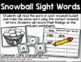 Snowball Sight Words - Sight Word Practice