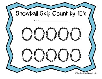 Snowball Skip Counting