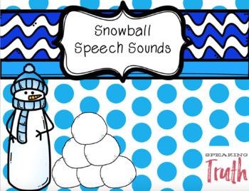 Snowball Speech Sounds