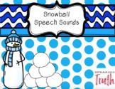 Snowball Speech Sounds