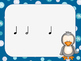 Snowball Splat-A Poison Rhythm Game for Quarter, Eighth, Rest, and Half Notes