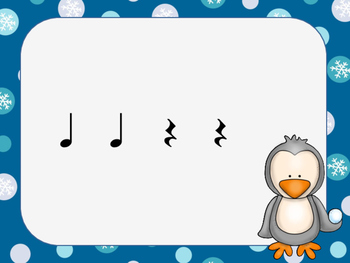 Snowball Splat-A Poison Rhythm Game for Quarter Notes, Eighth Notes, and Rest