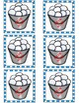 Snowball Splat Sight Word Game (Fry List 1)