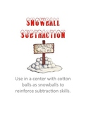 Snowball Subtraction