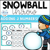 Snowball Throw {Adding 3 Addends}