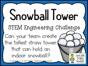 Snowball Tower - STEM Engineering Challenge