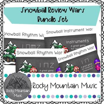 Snowball War Bundle Set