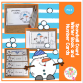 Snowball Winter Count Book with Number Cards
