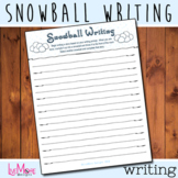 Snowball Writing - Christmas Language Arts Game