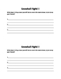 Snowball/ get to know you activity