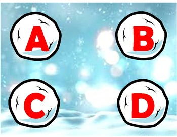 Snowball letters