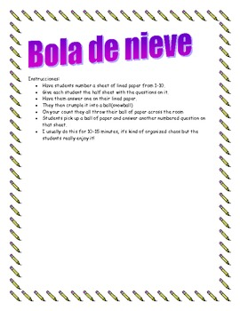 Snowball questions with Spanish boot verbs