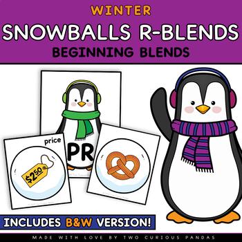 Snowballs Beginning R Blends- Winter Edition