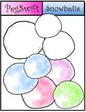 Snowballs Clip Art