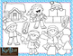 Make Your Own Snowman and Snow Fun Clip Art