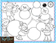 Make Your Own Snowman and Snow Fun Clip Art