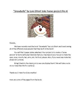 Snowballs parent letter
