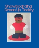 Snowboarding Teddy Bear Dress Up Craft (Olympics)