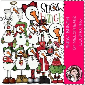 Snowbunch clip art - COMBO PACK- by Melonheadz