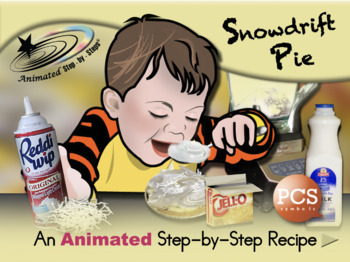 Snowdrift Pie - Animated Step-by-Step Recipe PCS