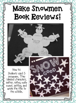Snowed In at School Day Writing and Literacy Fun