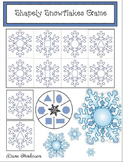 Winter: Snowflake 2D Shapes Matching Games