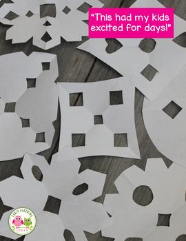 Snowflakes | Snowflake Activities Bundle | Winter Activities Bundle