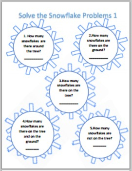 Snowflake Activities for Grades 3-5