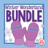 Winter Snowflake Activity Bundle