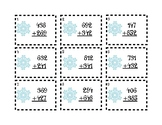 Snowflake Addition Task Cards