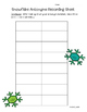 Snowflake Antonyms Matching Center and Recording Sheet