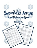 Snowflake Arrays: A Multiplication Game
