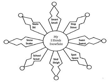 Snowflake Articulation Packet #JAN17SLPMUSTHAVE