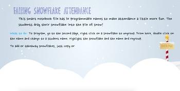 Snowflake Attendance