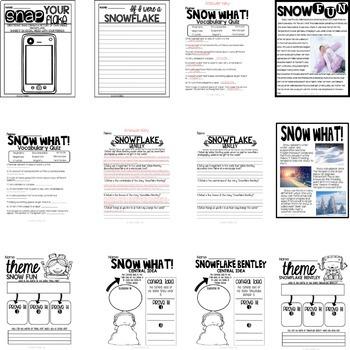 Snowflake Bentley Lesson Plans and Unit
