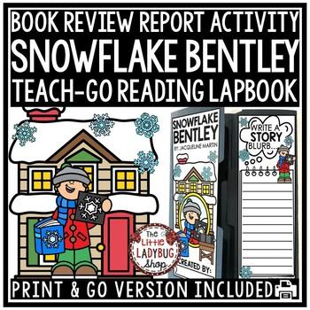 Snowflake Bentley Activity Lapbook