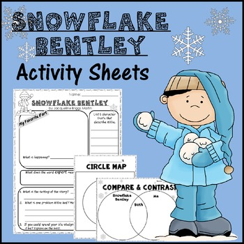 Snowflake Bentley Activity Sheets *Print & Go!*