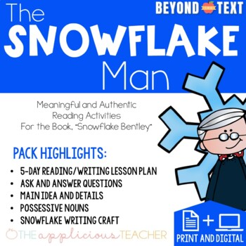 Snowflake Bentley Close Reading