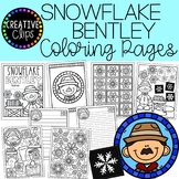 Snowflake Bentley Coloring Pages (+writing papers) {Winter