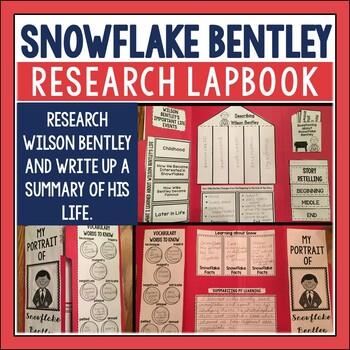 Snowflake Bentley Lapbook