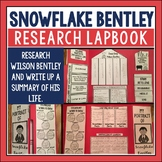 Snowflake Bentley Lapbook