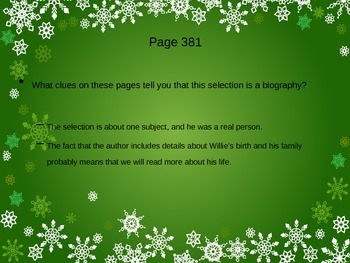 Snowflake Bentley PowerPoint - 4th Grade Treasures