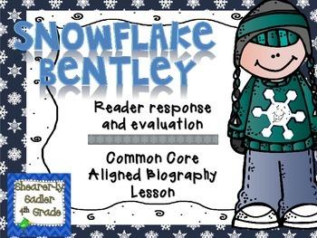 Snowflake Bentley Reader Response Lesson
