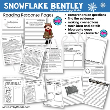 Snowflake Bentley | Reader Response | Writing Prompts | Book Companion