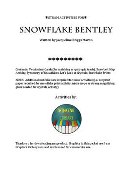 Snowflake Bentley STEAM Activities